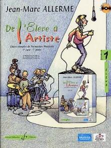 ALLERME J.M. DE L'ELEVE A L'ARTISTE VOL 1 ELEVE