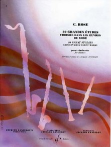 ROSE C./LANCELOT J. 20 GRANDES ETUDES CLARINETTE