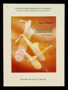 PRATI H. 17 ETUDES FACILES ET PROGRESSIVES SAXO