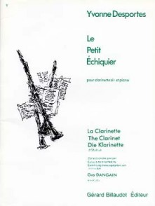 DESPORTES Y. LE PETIT ECHIQUIER CLARINETTE