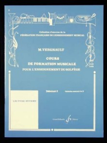 VERGNAULT M. COURS DE FORMATION MUSICALE D2