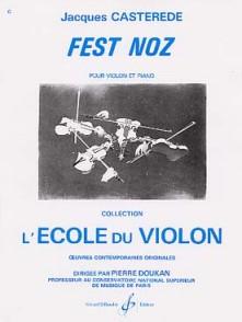 CASTEREDE J. FEST NOZ VIOLON