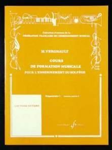 VERGNAULT M. COURS DE FORMATION MUSICALE P1