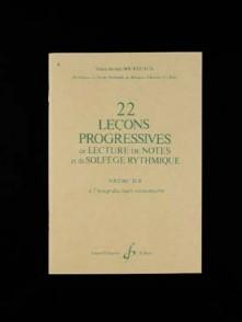 BOURDEAUX M.J. 22 LECONS PROGRESSIVES VOL 3B