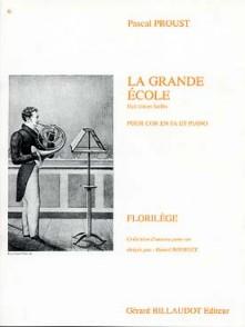 PROUST P. LA GRANDE ECOLE COR EN FA
