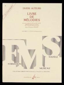 JOLLET J.C. LIVRE DE MELODIES VOL 3