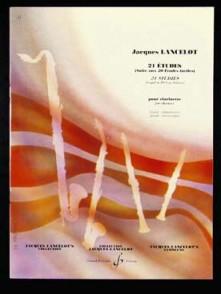 LANCELOT J. 21 ETUDES CLARINETTE