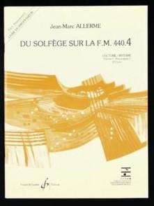 ALLERME J.M. DU SOLFEGE SUR LA FM 440.4 LECTURE RYTHME PROFESSEUR