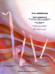 KROEPSCH F. MINI KROEPSCH VOL 3 CLARINETTE