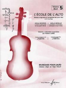 LAINE F. ECOLE DE L'ALTO VOL 5