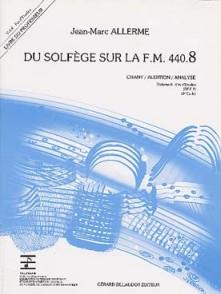 ALLERME J.M. DU SOLFEGE SUR LA FM 440.8 CHANT PROFESSEUR