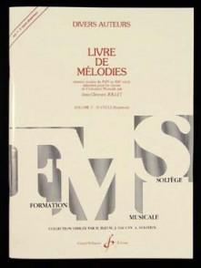 JOLLET J.C. LIVRE DE MELODIES VOL 7