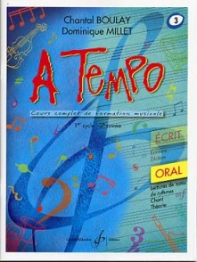 BOULAY C./MILLET D. A TEMPO VOL 3 ORAL