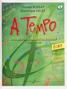 BOULAY C./MILLET D. A TEMPO VOL 2 ECRIT