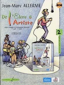 ALLERME J.M. DE L'ELEVE A L'ARTISTE VOL 2 PROFESSEUR