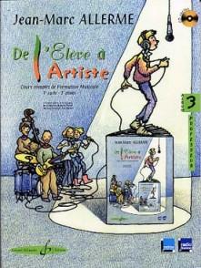 ALLERME J.M. DE L'ELEVE A L'ARTISTE VOL 3 PROFESSEUR