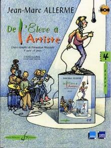 ALLERME J.M. DE L'ELEVE A L'ARTISTE VOL 4 ELEVE