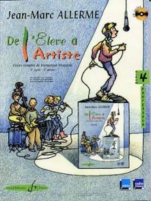 ALLERME J.M. DE L'ELEVE A L'ARTISTE VOL 4 PROFESSEUR