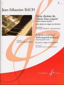 BACH J.S. PIECES CHOISIES VOL 2 PIANO
