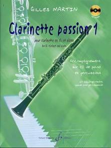 MARTIN G. CLARINETTE PASSION VOL 1