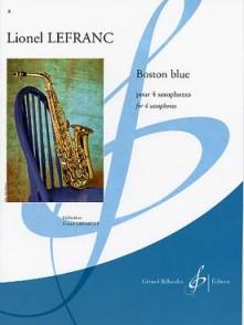 LEFRANC L. BOSTON BLUE 4 SAXOS
