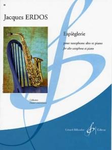 ERDOS J. ESPIEGLERIE SAXOPHONE