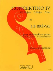 BREVAL J.B. CONCERTINO N°4 VIOLONCELLE