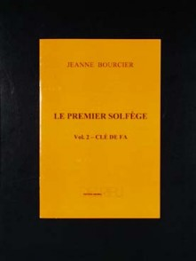 BOURCIER J. PREMIER SOLFEGE CLE DE FA