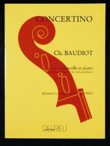 BAUDIOT CH. CONCERTINO VIOLONCELLE