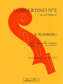 ROMBERG B. CONCERTINO OP 38 N°2 VIOLONCELLE