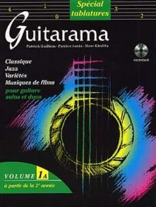GUILLEM P./JANIA P./KHALIFA M. GUITARAMA VOL 1A GUITARE