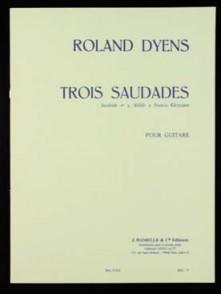 DYENS R. SAUDADE N°3 GUITARE