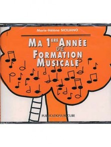 SICILIANO M.H. MA 1RE ANNEE DE FORMATION MUSICALE CD