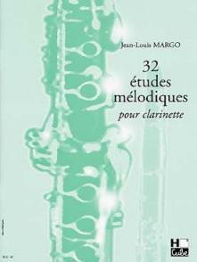 MARGO J.L. 32 ETUDES MELODIQUES CLARINETTE