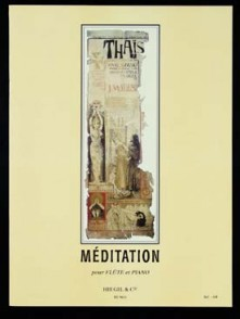 MASSENET J. MEDITATION DE THAIS FLUTE