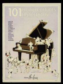 101 PREMIERES ETUDES PIANO
