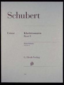 SCHUBERT F. SONATES VOL 1 PIANO