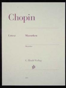 CHOPIN F. MAZURKAS PIANO
