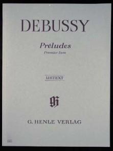 DEBUSSY C. PRELUDES VOL 1 PIANO