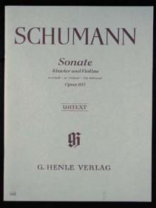SCHUMANN R. SONATE OP 105 VIOLON