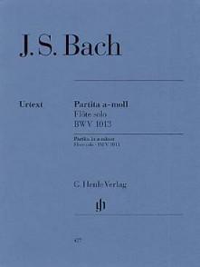 BACH J.S. PARTITA  BWV 1013 FLUTE SOLO