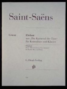 SAINT-SAENS C. L'ELEPHANT CONTREBASSE