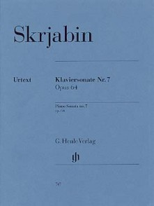 SCRIABINE A. SONATA OP 64 N°7 PIANO