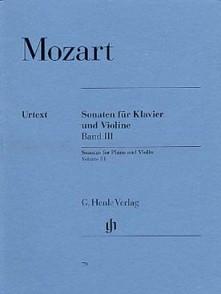 MOZART W.A. SONATES VOL 3 VIOLON