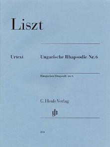 LISZT F. RHAPSODIE HONGROISE N°6 PIANO