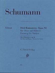 SCHUMANN R. 3 ROMANCES OP 94 VIOLON
