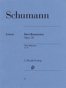 SCHUMANN R. ROMANCES OP 28 PIANO