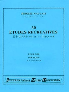 NAULAIS J. 30 ETUDES RECREATIVES COR