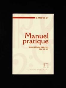 DANDELOT G. MANUEL PRATIQUE POUR L'ETUDE DES CLES