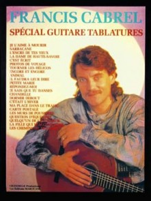 CABREL FRANCIS SPECIAL GUITARE TABLATURE